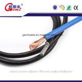 El múltiplo quita el corazón al cable flexible de la soldadura