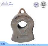 Le défibreur automatique élevé de l'acier de manganèse Zgmn18 partie le marteau de broyeur