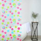 다채로운 점 Eco-Friendly PEVA 샤워 커튼