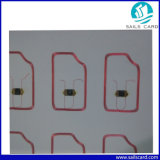 125kHz/13.56MHz PVC Smart RFID Contactless Card Inlay