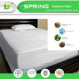 China Proveedor de Felpa de algodón 100% impermeable protector de colchón hipoalergénico de alta calidad cubierta