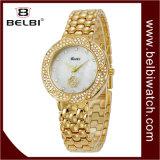 Relógios de senhoras luxuosos da jóia da flor do diamante de Belbi