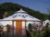Шатер Монгол семьи 100 Sqms напольный