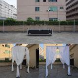 Aluminium-justierbares Rohr und drapieren für Hochzeits-/Ausstellung-Hintergrund-Standplatz