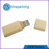 Roter Holz USB-Stock-Flash-Speicher