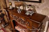 Brown naturel Foyer à bois sculpté à la main d'intérieur