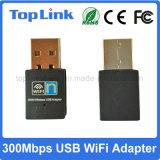 Velocidad sin hilos vendedora caliente de la tarjeta de red del USB WiFi del bajo costo 802.11n Realtek Rtl8192 hasta 300Mbps