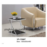 Tabella domestica Yf-T17098 di vetro Tempered del blocco per grafici dell'acciaio inossidabile della mobilia