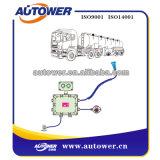 Sistema que pone a tierra estático del vehículo para el cargamento petroquímico