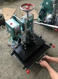 Presse à emboutir chaude se plissante en cuir avec le guide de clinquant (Tam-310-L)