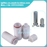 Filtro plissado Polypropylene de 5 mícrons para a carcaça de filtro da água da segurança