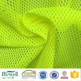Ткань сетки полиэфира для высоких тельняшек безопасности видимости