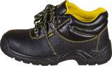 Ботинки деятельности Mens ботинок безопасности к конструкции безопасной кожи коровы верхней горячей для работника здания