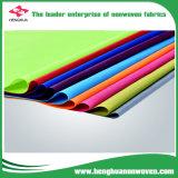 Materia textil Hacer girar-Consolidada no tejida de la tela 2600m m de los PP DOT/Cross en Rolls