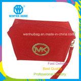 Cas cosmétiques de Madame Red Women Makeup Shinning le sac d'organisateur de PVC