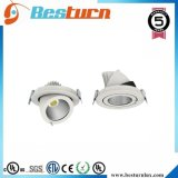 8 pulgadas de bajo precio de fábrica COB 6W-30W LED de luz de techo hacia abajo