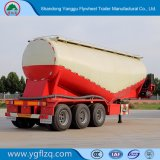 Export Bulk Cement Tanker Truck/Semi Trailer for Powder Material Transport