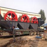 Vari tipi pianta di lavaggio della sabbia mobile per la sabbia producendo riga