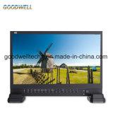 """Vierradantriebwagen-aufgeteilte Bildschirmanzeige-Sendung 15 """" TFT LCD IPS-4K UHD 3840X2160 4xhdmi 3G SDI"""