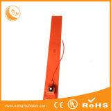 Calefator elétrico flexível do silicone do Thinness do aquecimento