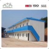 Estrutura de aço leve residência temporária de baixo custo do painel do tipo sanduíche Prefab House
