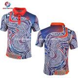 Custom Sportswear Sublimation Hommes Chemises Polo Shirt de sport pour les populations