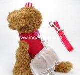 Платье с поводком собаки, платье собаки любимчика проводки собаки