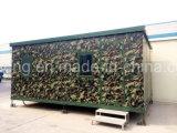Pack plat modulaires préfabriquées réservoir mobile chambre