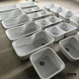 A Kkr Undermount pedra artificial pia de cozinha único para venda