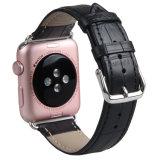 Apple para ver el cocodrilo de la banda de Reloj de cuero auténtico para la correa de reloj de manzana
