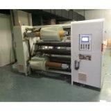 BOPP, PVC, la película OPP de rebobinado de corte longitudinal de la máquina para rollo Jumbo