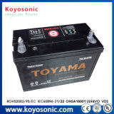 12V Batterij van de Auto van de Batterij van de Batterij van het normale Type de Auto Auto12V 62ah 80d26L