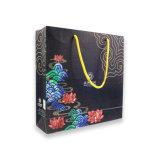 アイボリー紙のハンドバッグはショッピング・バッグのギフトの紙袋をカスタマイズした