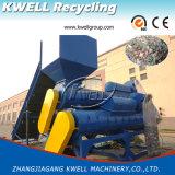 Einzelner Welle-Haustier-Flaschen-Kennsatz-Remover/Plastikflaschen-Kennsatz Romoving Maschine