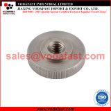 La norme DIN 467 mince en acier galvanisé l'écrou moleté