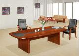 Klassischer Konstruktionsbüro-Konferenz-Schreibtisch-hölzerner Versammlungstisch