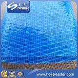 Boyau bleu d'irrigation de l'eau de PVC Layflat