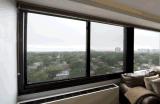 Aluminiumlegierung-schiebendes Fenster mit guter Qualität