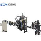 CNC Lochen, Markierung u. scherende Zeile für Winkel
