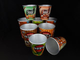 Wegwerfaluminiumfolie-Imbiss-Cup-Qualitätspapiercup-Verpacken der Lebensmittel