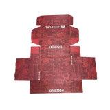 Напечатанная оптовой продажей коробка ботинка гофрированной бумага