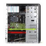 쉬운 ATX 컴퓨터 상자는 2xusb2.0+Audio 포트와 더불어 모인다