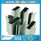 Perfil de alumínio de Indonésia para a porta deslizante de frame de indicador do material de construção