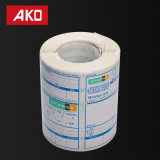 Facile de la meilleure qualité d'estamper les étiquettes directes de logistique d'étiquettes d'expédition d'usine de visibilité de papier élevé de desserrage