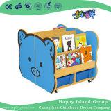 Nova Escola de Design de livros de madeira Exibir prateleira para crianças (HG-4107)
