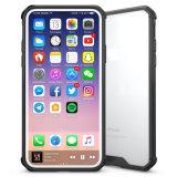 PC van de Daling van de Hoeken van het Geval TPU Vier van de telefoon Acryl Anti - Kras Beschermende Dekking voor iPhone