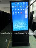 表示人間の特徴をもつ媒体プレーヤー商業大きいLCDのタッチ画面を広告するデジタル表記