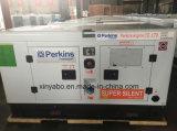 El poder generador diesel para la venta con precio de fábrica con motor Perkins 75kVA Generador Diesel en silencio