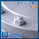 Los extremos del borde del oscilación de Didtek empernaron la válvula de verificación del capo