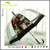 싼 까만 금속 손잡이 를 위한 23inch x 우산을 광고하는 8K